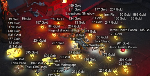 comment avoir plein d or dans diablo 3
