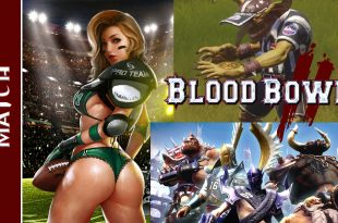 Bretonien VS Chaos (Blood Bowl 2)