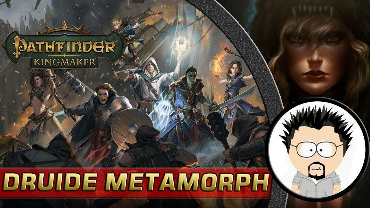 FR Pathfinder Kingmaker Build Druide Métamorphose